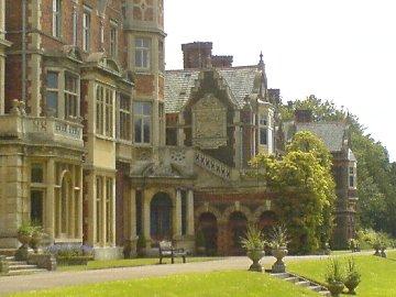 Front of Sandringham House