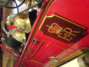 Royal Fire Engine at Sandringham House